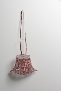 Tony Albert The Moon Is Not Yours To Take_2014_ Coca-Cola cans and wire_65 x 30cm overall