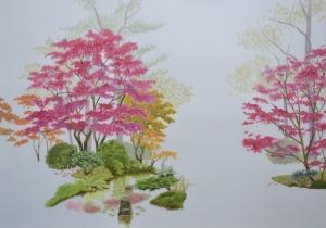 Kristel Smits, Japanese Garden Tableau blog